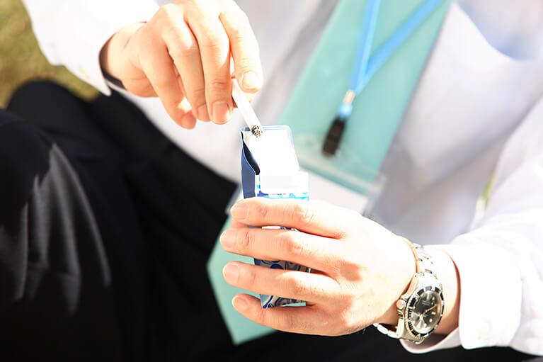 タバコは万病のもと。禁煙をお勧めします